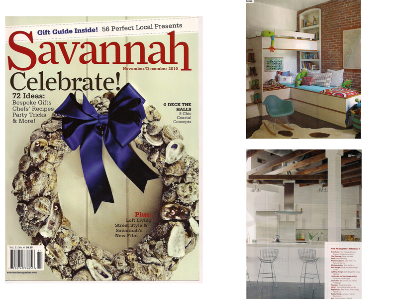 AWD Savannah artistic furniture featured in Savannah Magazine