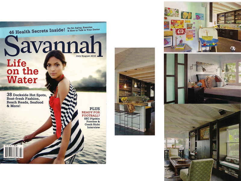 AWD Savannah wood crafts featured in Savannah Magazine